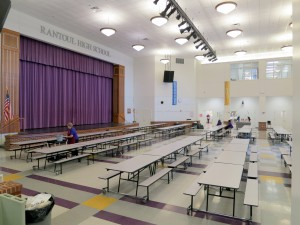 "The ""Cafetorium"" - Cafeteria/Auditorium"