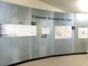 History timeline of Chanute